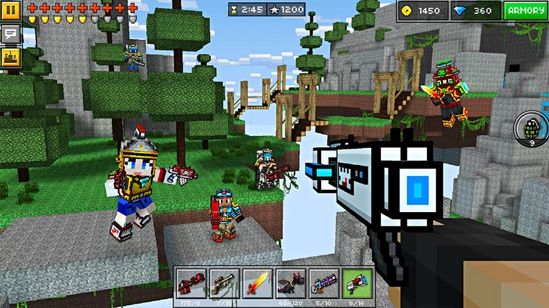 Pixel Gun 3D FPS & Battle Royale Screenshot